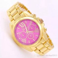 e08b9530ad6 Watch Dial Fashion Gold Relogio Feminino Geneva Watch Full Steel Women  Watches Ladies Analog Quartz Wristwatches Online with  20.95 Piece on  Michael2013 s ...