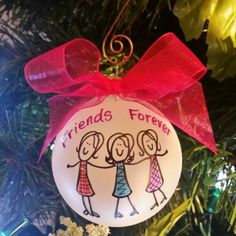 Best Friends Forever. 3,4,5 or 6 girl friends, book club, lunch bunch, foodies. great gift for your crew!