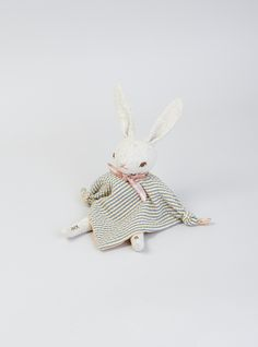 Couverture and The Garbstore - Childrens - Polka Dot Club - PDC Cuddling Rabbit