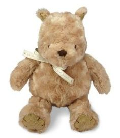 A very cute plush that is Winne the Pooh. The classic style from back in the day. Wonderful gift.