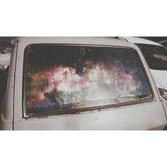 #wow #car #flower