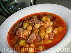 Foodista   Recipes, Cooking Tips, and Food News   Nohutlu bamya yemeği