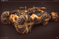 ArtStation - Artstation Journey Winner - Earth Giant, Darko Markovic dar-mar