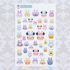 Tsum Tsum Easter Stickers - so adorable!