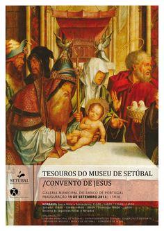 Exposição | Tesouros do Museu de Setúbal | 15 de Setembro | Galeria Municipal do Banco de Portugal