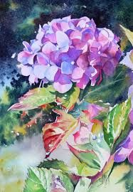 canvas art paintings hydrangea에 대한 이미지 검색결과