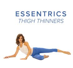 Get the bikini body ready with Essentrics Side Leg lifts. They will totally reshape your hips, bum and thigh! #essentrics #thighthinners