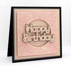 Swirly Frame 11 Card