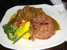 Curried goat. Negril in The Village, NYC. It's almost as good as my dad's.
