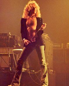 Robert Plant of Led Zeppelin.