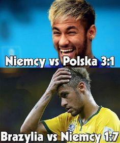 Brazylijczyk chciał wyśmiać Polskę ale za chwilę przypomnieli mu wynik z półfinału MŚ • Neymar kpi z porażki Polski z Niemcami >>