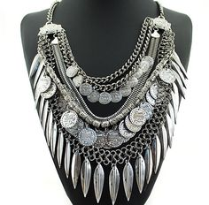 Turkish Gypsy Bohemian NecklaceSuch a statement piece that is sure to turn headsComing December/JanuaryAvailable for pre-sale now (and the necklace will be posted as soon as we receive them)