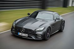 Built to honor the 50th anniversary of AMG, the Mercedes-Benz AMG GT C Edition 50 is a highly limited version of this already exclusive sports car. It's painted in an exclusive Graphite Grey Magno, with black chrome highlights all over...