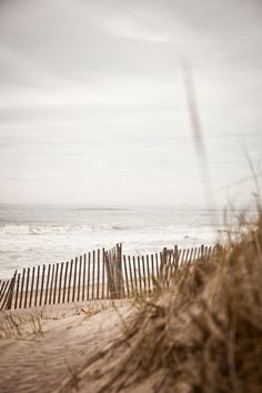 beach, sky, ocean, sand, fence, photography