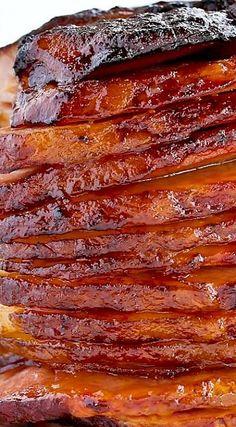 Baked ham, Hams and Baked ham recipes on Pinterest