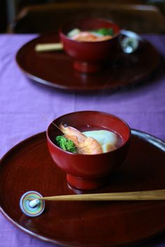 One of my many favs... Japanese dish, Ozoni お雑煮