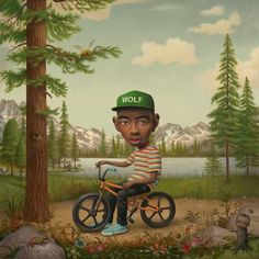 Tyler the creator (Wolf)