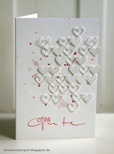 viiiele Herzen ---- Blütenstempel: Ein bisschen wie....