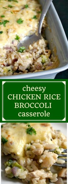 Cheesy chicken rice broccoli casserole, a fantastic dish that makes dinner with your family a special moment. Comforting, filling, deliciously cheesy, this casserole is a great favourite of mine. #casserole, #ricecasserole,, #chickendinner , #chickenbrocc