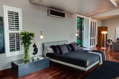 Bedroom, Modern Upgrade in South Africa