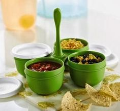HI-HO HI-HO WITH TUPPERWARE WE GO: Tupperware Essentials Condiment Server Sale Priced Thru This Friday Oct 25! www.my.tupperware.com/lindacwilson