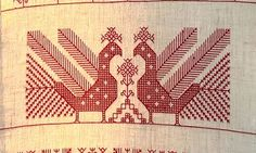 'Käspaikka', In Karelia Finland, the orthodox tradition of embroidery