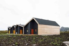 Driv Arkitekter | Boliger Træna Prairie Fire, Shed, Outdoor Structures, Cabin, House Styles, Home Decor, Lean To Shed, Decoration Home, Room Decor