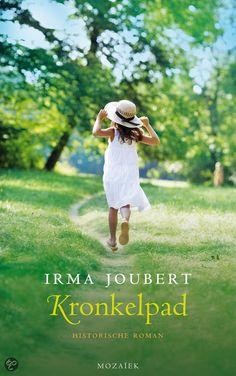 (B)(2013) Kronkelpad - Irma Joubert - Een jonge vrouw volgt medio 20e eeuw haar vader op als arts in haar Zuid-Afrikaanse geboorteplaats waar ze later in contact komt met een Italiaan die in de Tweede Wereldoorlog zijn joodse vriendin heeft verloren. Genre(s) : sociale roman