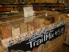 make your own trail mix bar | Make Your Own Trail Mix Bar