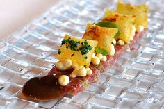 Steak Tartare with Mustard Ice Cream - El Celler de Can Roca