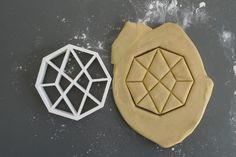 Herschel graph cookie cutter, 3D printed on Etsy, $9.88