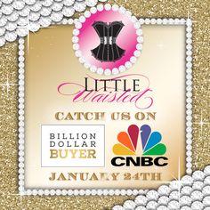 Catch Little Waisted on CNBC's Billion Dollar Buyer January 24th! www.littlewaisted.com