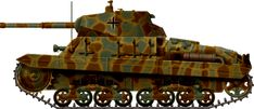 Carro Armato Pesante M26/40 : The only operational Italian Heavy tanks of ww2, unfortunately too late : It was produced and used only by the Germans in italy in 1944-45.