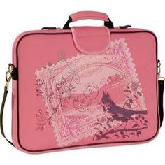 Women's Laurex 17.3in Laptop Sleeve Pink Stamp (One Size), Size ...