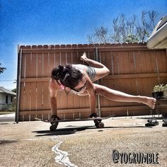 11 best skateboard yoga style images  yoga arm balance