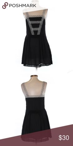 """Kimchi Black with Lace Casual Dress Size XS Kimchi Black with Lace Casual Dress Women's Size Extra Small. Measurements 28"""" Chest 26"""" Length. 100% Polyester. Gently used! Kimchi Blue Dresses Mini"""