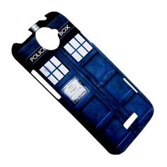 HTC One X Hardshell Case, Tardis Doctor Who (Fully Wrap Back and Side). $16.00, via Etsy.