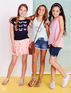 Clothes-For-Girls-Justice/ preteen girls fashion, tween girls, kids fashion, Preteen Girls Fashion, Tween Girls, Kids Fashion, Fashion Fashion, Young Fashion, Fashion Tips, Outfits Niños, Outfits For Teens, Fashion Outfits