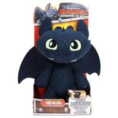 Toothless Deluxe Soft Toy: Amazon.co.uk: Toys & Games
