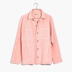 Pink Denim Chore Coat : shopmadewell denim jackets | Madewell