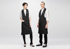 What the wait staff 39 s uniforms will look like with the for Uniform spa italy
