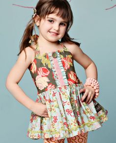 Serendipity, Spring 2012: Bowie Roundabout Top Matilda Jane Girls Clothing size 2
