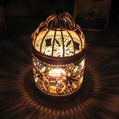 SQS-LOVE The grocery European pastoral style bird cage type iron lantern Creative Wedding Candle gift wholesale US $8.69