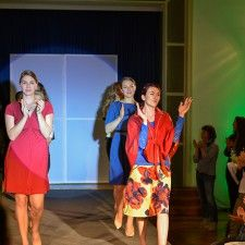 Fashion Show for #apfelgrün in #frankfurt #fashionshow #annafjord #la.luka
