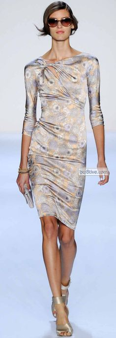 Badgley Mischka Spring 2014 #NYFW
