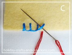 How To Do Blanket Stitch for...  1). Sewing Along Edge: One Layer  2). Sewing Along Edge: Two Layers  3). Sewing In From The Edge  4). Sewing Corners