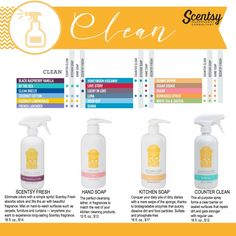 Scentsy - clean Krista Rector Independent Scentsy Consultant on Facebook