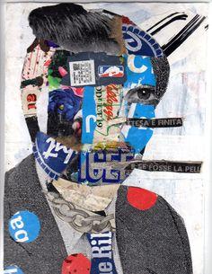 BAST. #bast http://www.widewalls.ch/artist/bast/ #graffiti #urban_art #street_art #bast #collage #ny