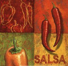 Chili art -salsa