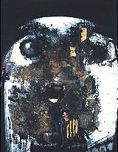 juana frances: Homenaje a Juan Gris. Acrílico y tierras sobre lienzo. 103 x 83 cm. 1963.